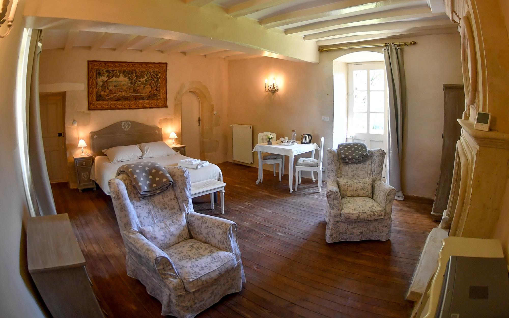 Château Grand Cour - Chambre d'hôte à Grandchamps des Fontaines (Nantes)