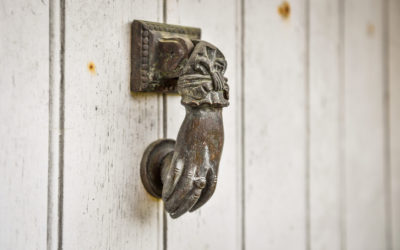 Détail poignée de porte