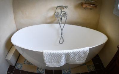 Salle de bain de la chambre Du Boisgueheneuc