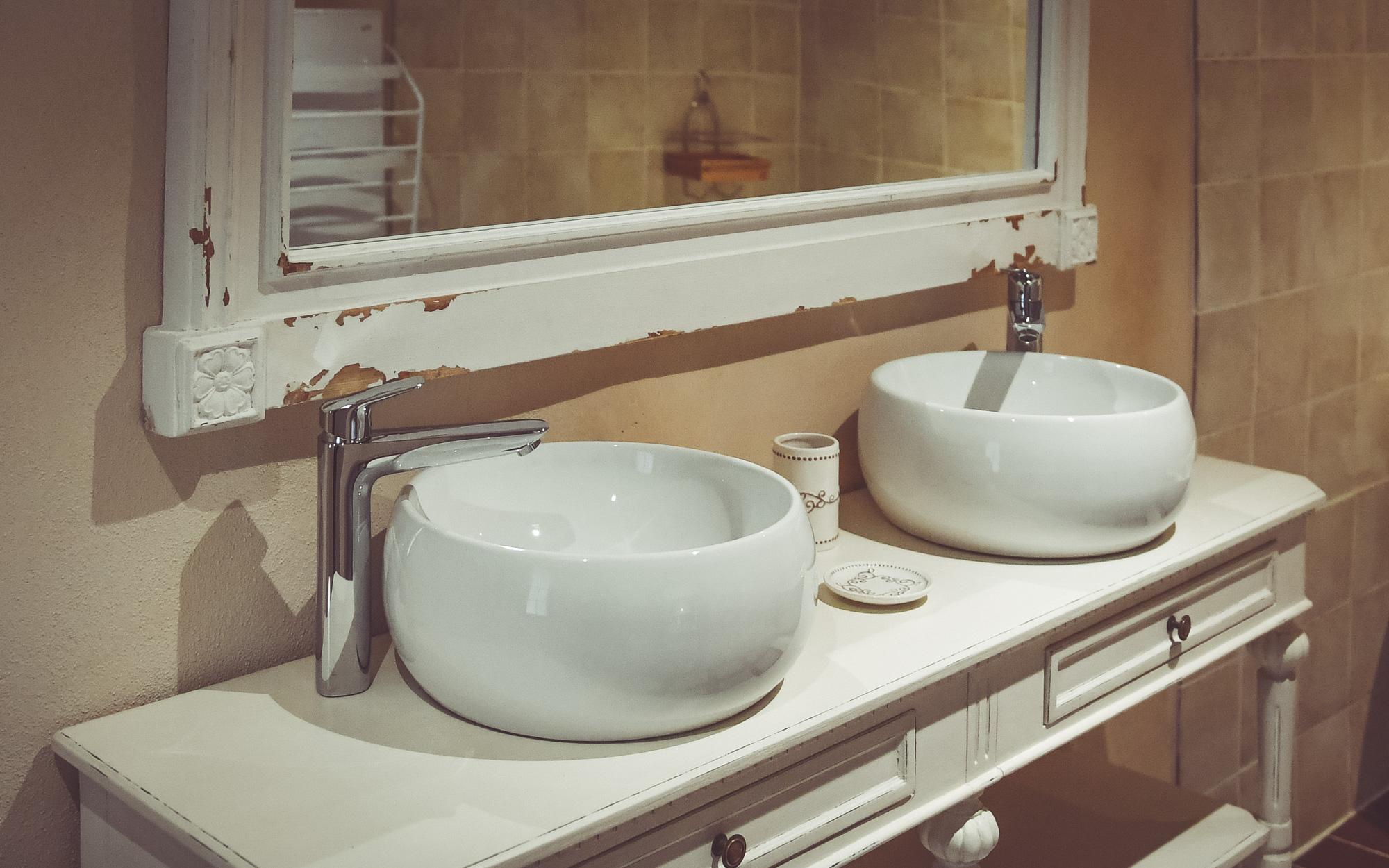 Salle de bains de la chambre De Besné